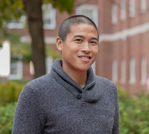 John Pham researches soft materials and interfaces and liquid-surface interactions, among other interests.
