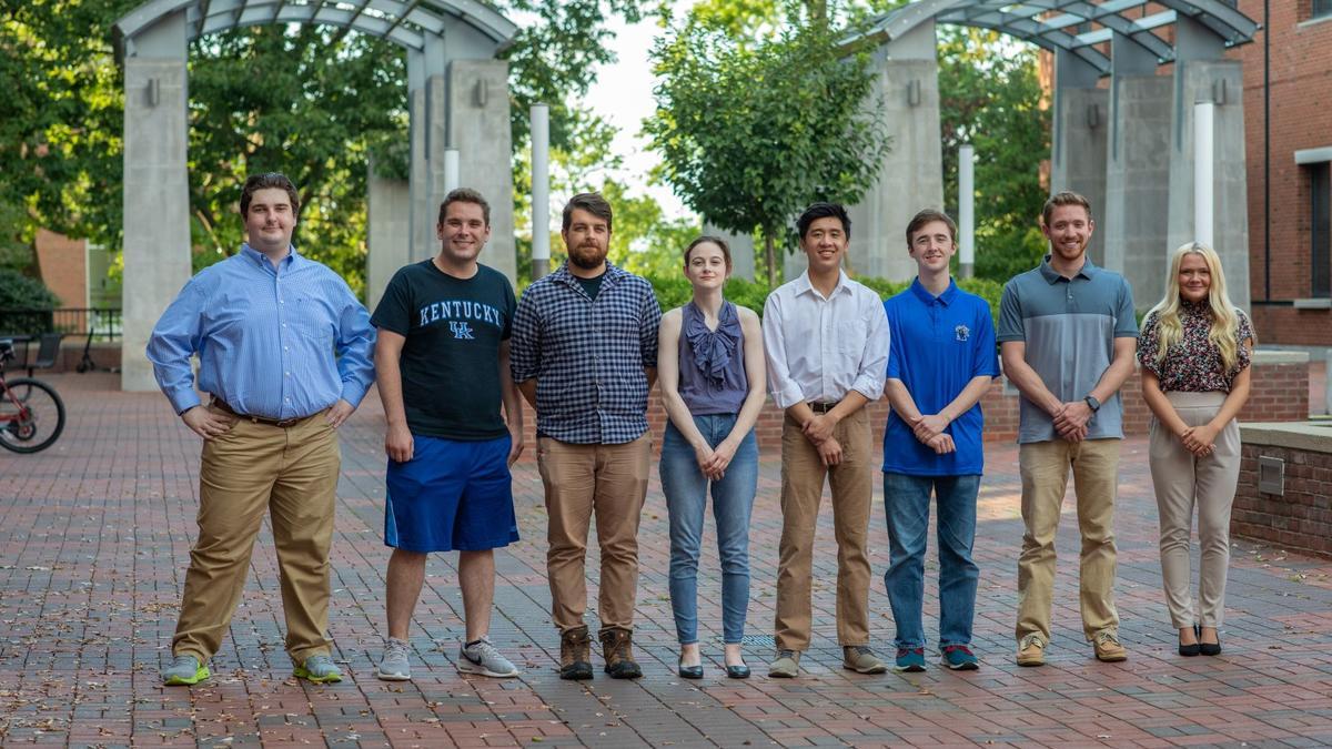 Boeing Scholarship recipients