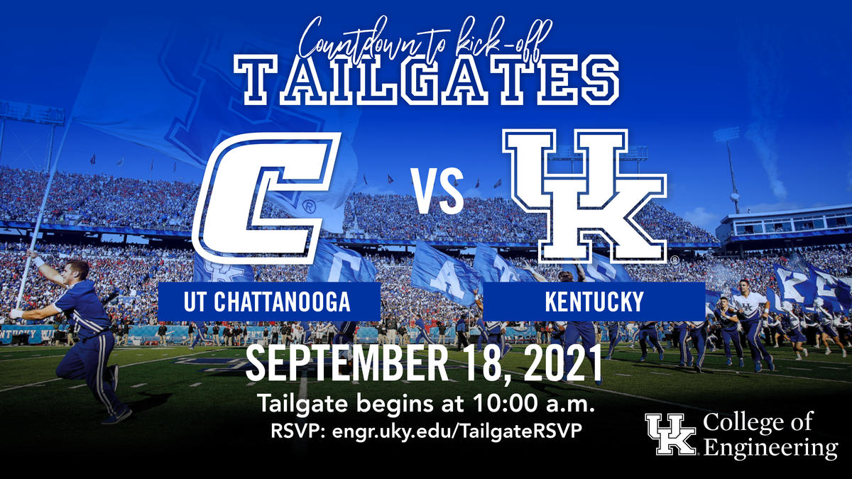We have tailgate parties for all seven home games this season.