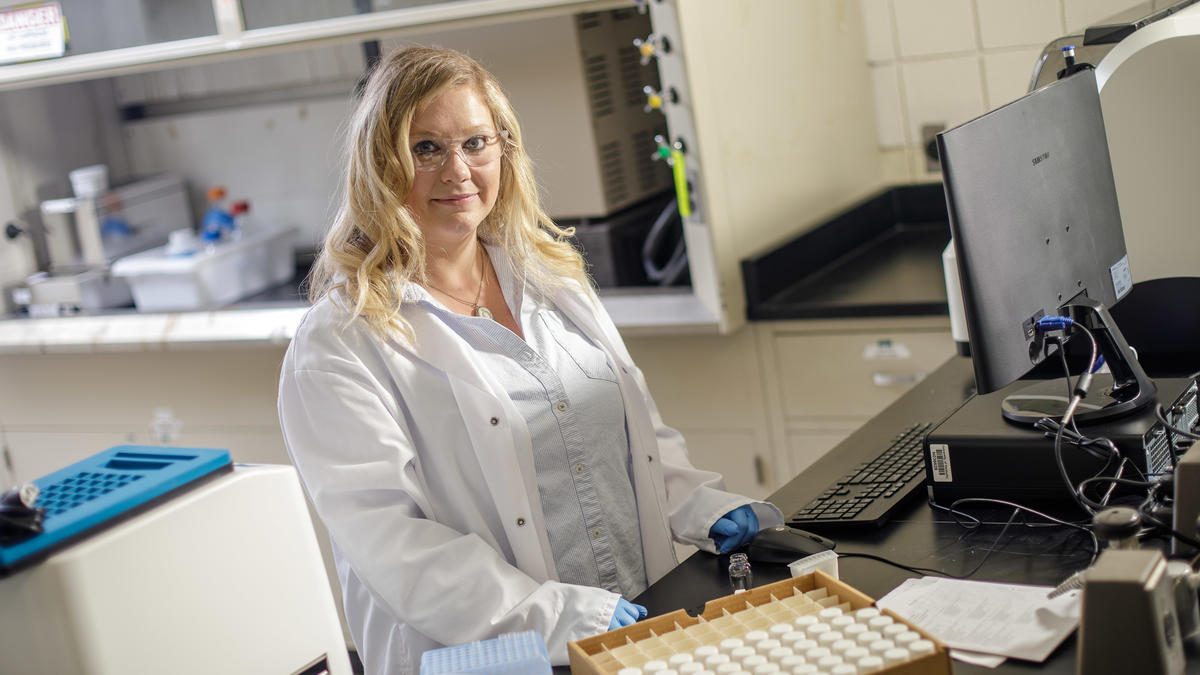 Biosystems and agricultural engineering assistant professor Tiffany Messer