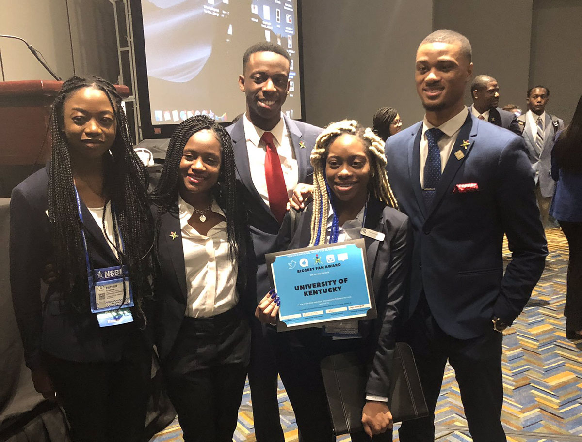 UK NSBE Attends, Wins Awards at National Convention