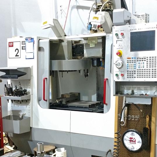 HAAS VF2 - 4 Axis Vertical CNC Machining Center