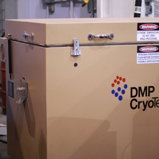 DMP Cryotemper - Cryogenic Freezer for Pre-cooling Workpieces Before Processing