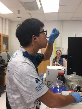 The REU at the University of Kentucky introduced me to amazing people and experiences. While providing a fresh perspective on chemical engineering and materials research, I also had the fortune of exploring a new area of the country and all that it has to