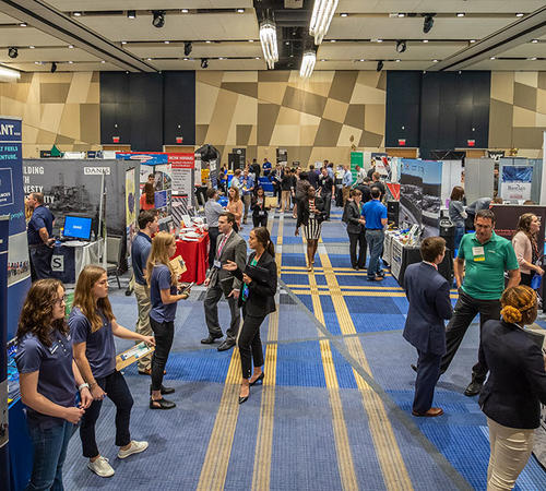 The Engineering and Computer Science Career Fair will be held September 21.