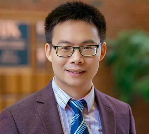 Electrical and computer engineering assistant professor JiangBiao He