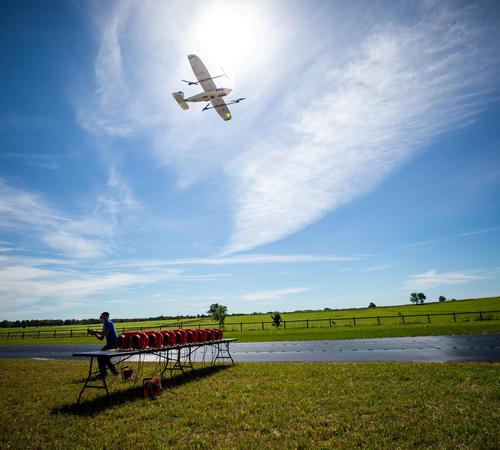 WINDMAP is part of a NASA-sponsored multi-university research collaboration to improve weather awareness for drones, air taxis and urban flight management. Photo by Eric Sanders.